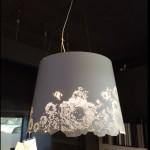 Hanglamp Karman H45 dia 60/50 – geperforeerd gelakt wit staal :  € 1.118 – NU € 894 afhaal