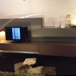 TV meubel – MisuraEmme – gelakt/fineer L2880 : € 5.336 – NU € 3.735 afhaal